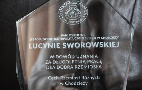 Pożegnanie Pani Lucyny Sworowskiej